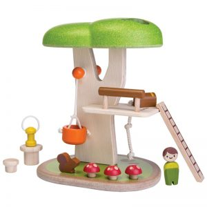 EarthHero - Pretend Play Funky Tree House - 1