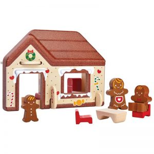 EarthHero - Pretend Play Gingerbread House - 1