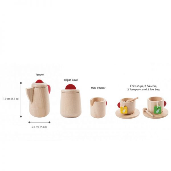 EarthHero - Pretend Play Tea Time Set - 2