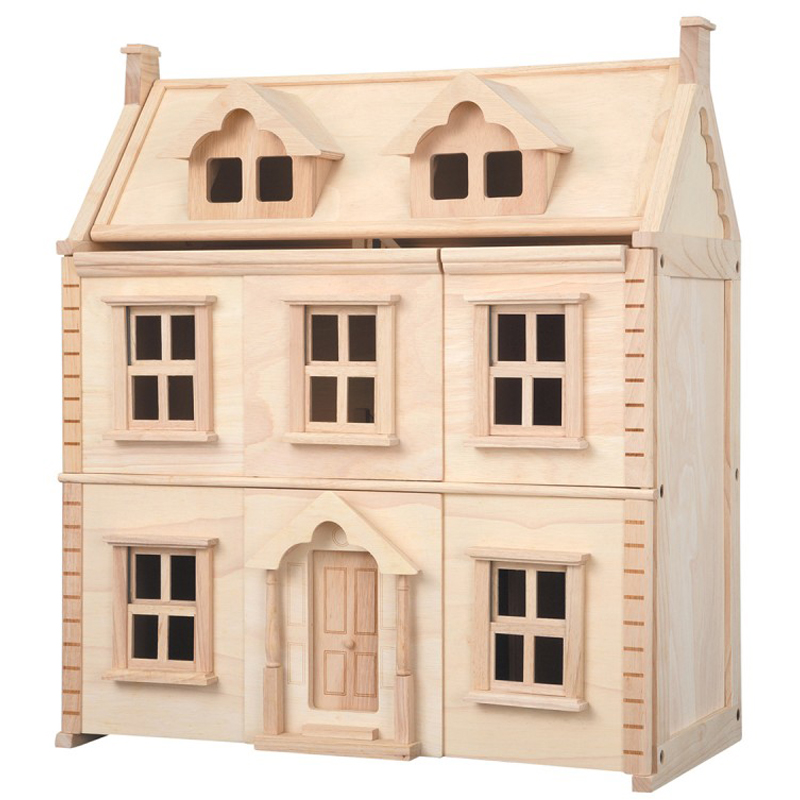 EarthHero - Victorian Wooden Dollhouse - 1