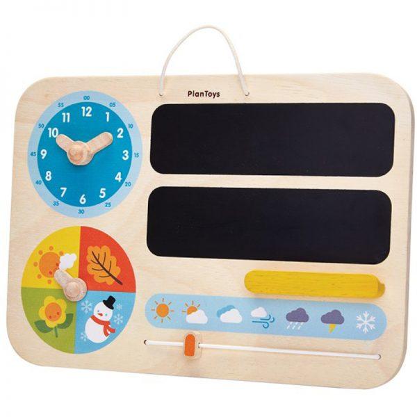 EarthHero - Wooden Kids Learning Calendar - 1