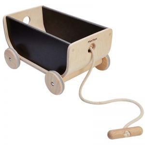 EarthHero - Wooden Kids Wagon - Black