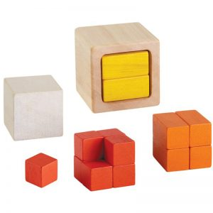 EarthHero - Wooden Math Blocks Fraction Cubes - 1