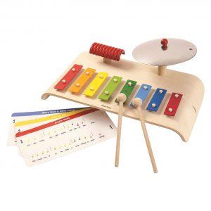 EarthHero - PlanToys Musical Xylophone Set  - 1