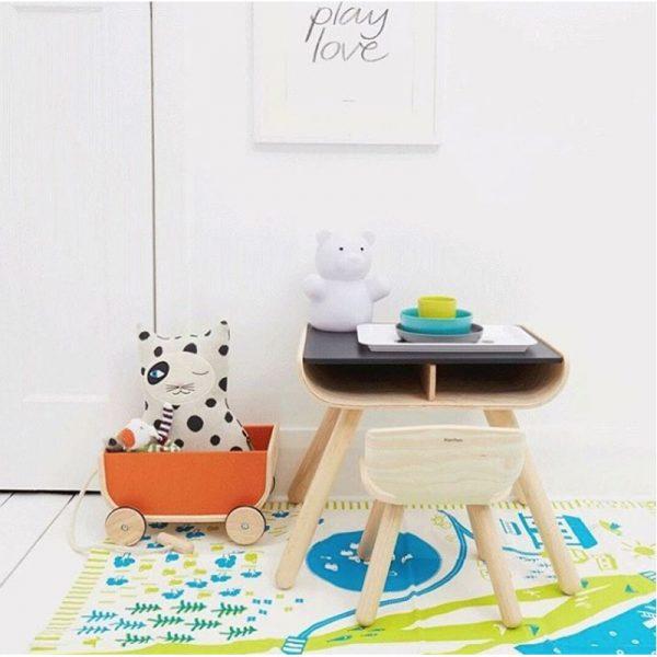 EarthHero - Kids Wooden Table & Chair - 5