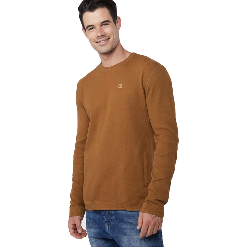 EarthHero - tentree Men's Banff Organic Cotton Waffle Knit Sweater - 1