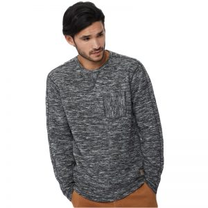 EarthHero - tentree Men's Irvin Heathered Crew Neck T-Shirt - 1