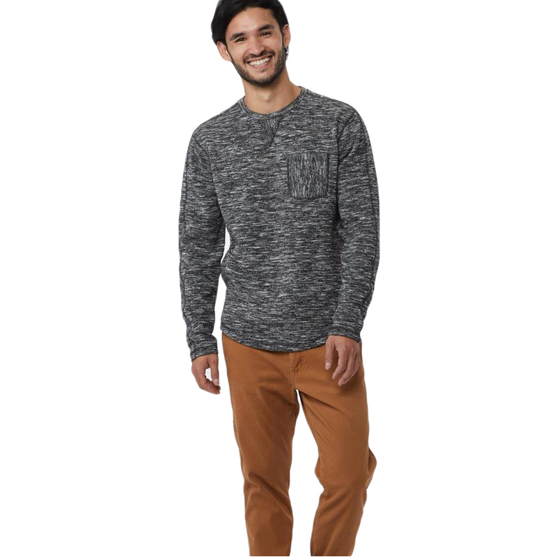 EarthHero - tentree Men's Irvin Heathered Crew Neck T-Shirt - 3