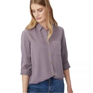 EarthHero - tentree Women's Fernie Longsleeve Button Up Shirt - 1