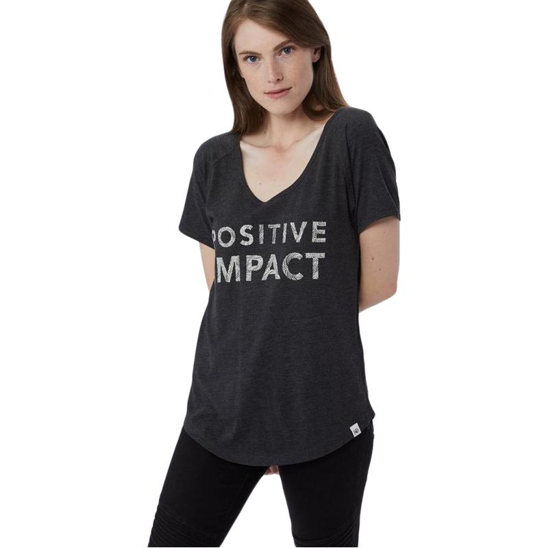 EarthHero - tentree Women's Positive Impact Graphic Tee - 1