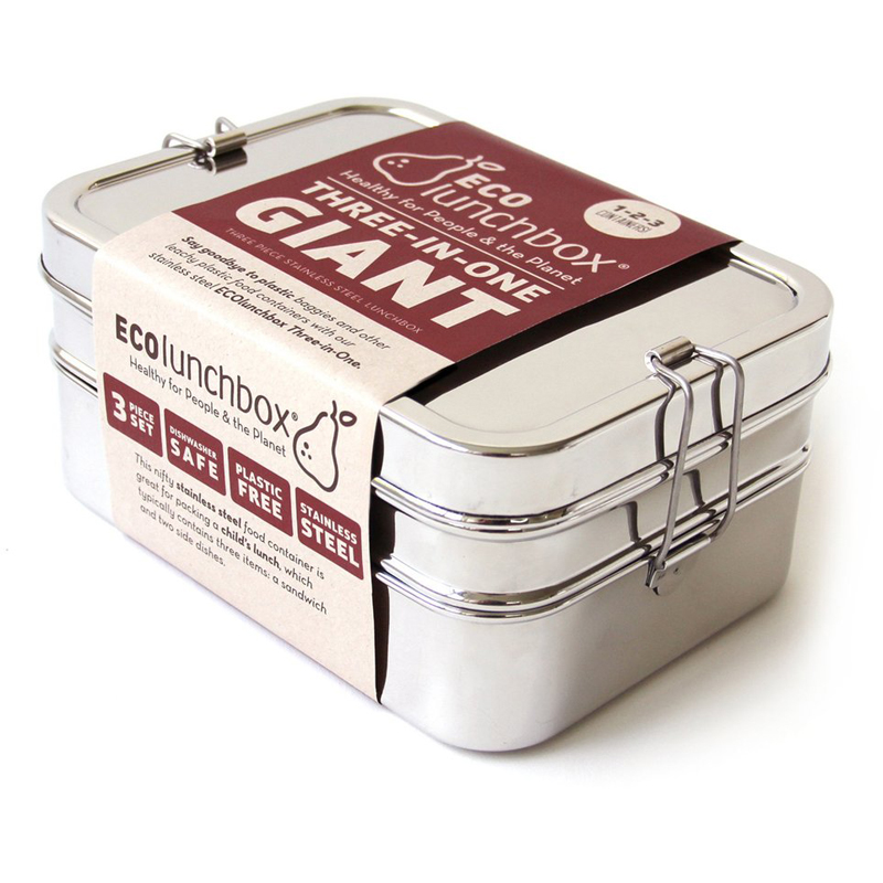 EarthHero - 3-in-1 Giant Stainless Steel Lunchbox - 1
