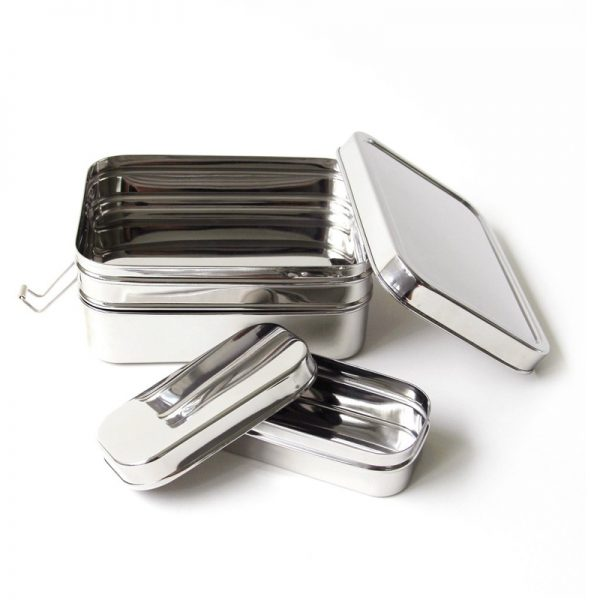 EarthHero - 3-in-1 Giant Stainless Steel Lunchbox - 3