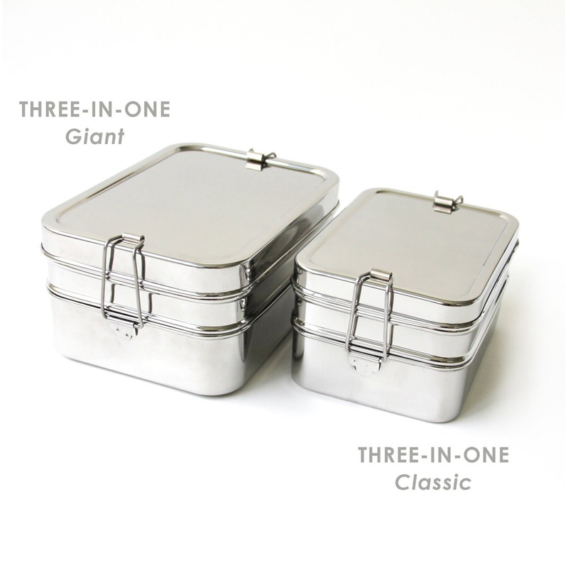 EarthHero - 3-in-1 Giant Stainless Steel Lunchbox - 5