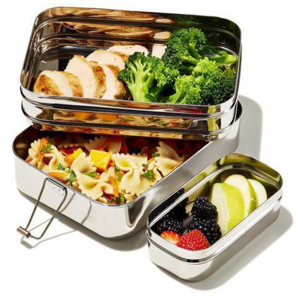 EarthHero - 3-in-1 Giant Stainless Steel Lunchbox - 6