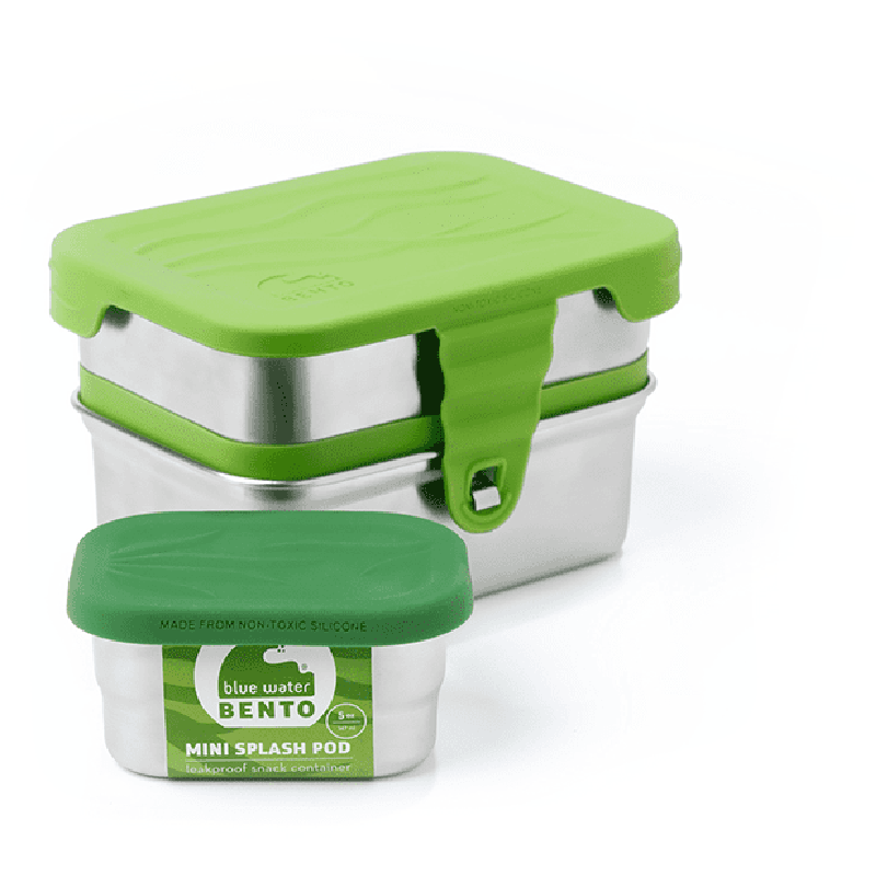 EarthHero - 3-in-1 Splash Stainless Steel Lunchbox - 2