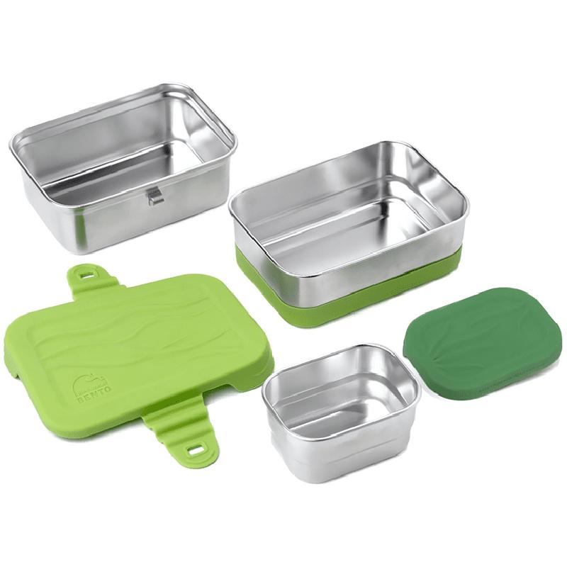 EarthHero - 3-in-1 Splash Stainless Steel Lunchbox - 4