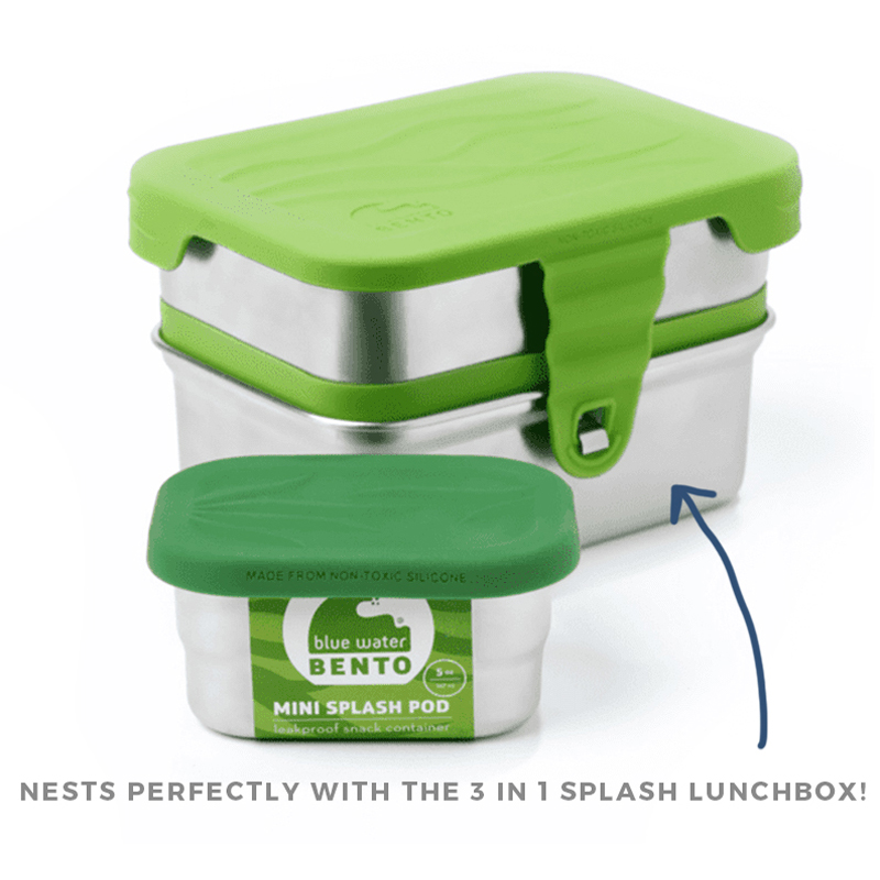 EarthHero - Mini Splash Pod Stainless Steel Container - 3