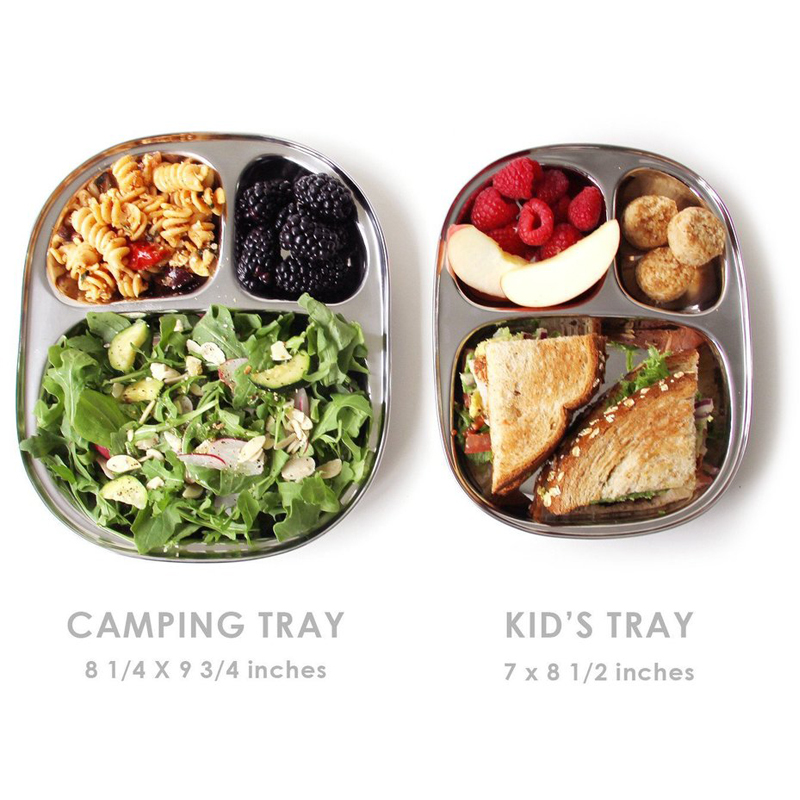 EarthHero - Stainless Steel Camping Plate - 2
