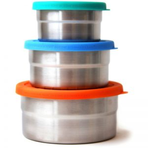 EarthHero - Stainless Steel Container Seal Cup Trio - 3pk - 1