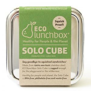 EarthHero - Stainless Steel Cube Container - 1