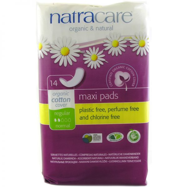 EarthHero - Organic Cotton Maxi Pads - Regular