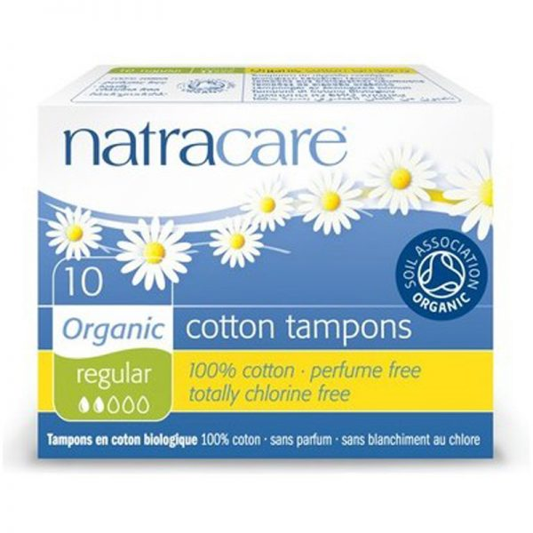 EarthHero - Organic Tampons w/o Applicator  - Regular