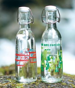 EarthHero x Love Bottle Reusable Glass Bottle | Zero Waste Essentials