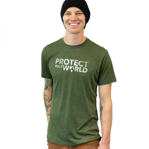 EarthHero - Men's Protect the World Graphic Tee - 1