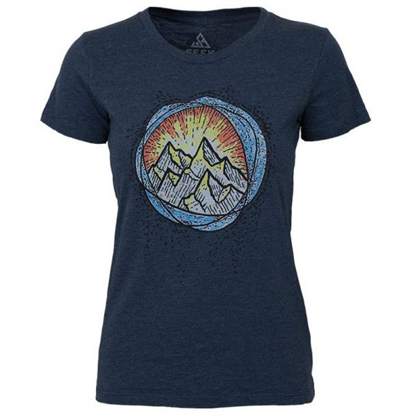 EarthHero - Alpine Glow Women's Graphic T-Shirt