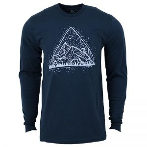 EarthHero - Longsleeve Mountain View Organic Cotton T-Shirts