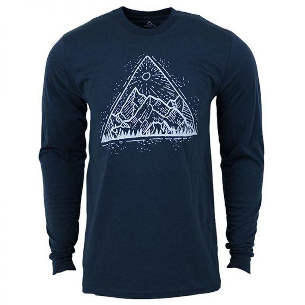 EarthHero - Longsleeve Mountain View Organic Cotton T-Shirts