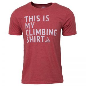 "EarthHero - ""My Climbing Shirt"" Men's Graphic T-Shirt"