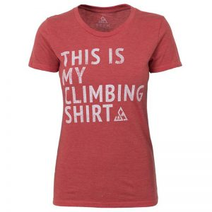 "EarthHero - ""My Climbing Shirt"" Women's Graphic T-Shirt"