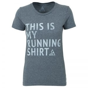 "EarthHero - ""My Running Shirt"" Women's Graphic T-Shirt"