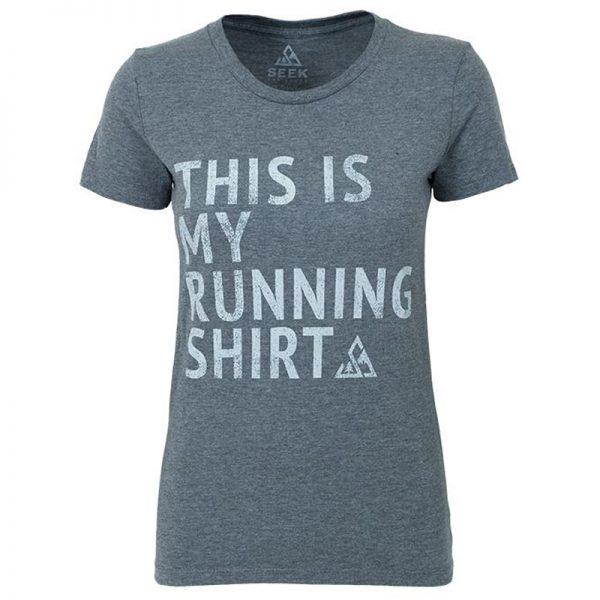 """EarthHero - """"My Running Shirt"""" Women's Graphic T-Shirt"""