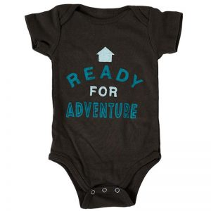 EarthHero - Ready for Adventure Organic Cotton Infant Onesie