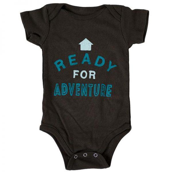 EarthHero - Ready for Adventure Organic Cotton Infant Onesie