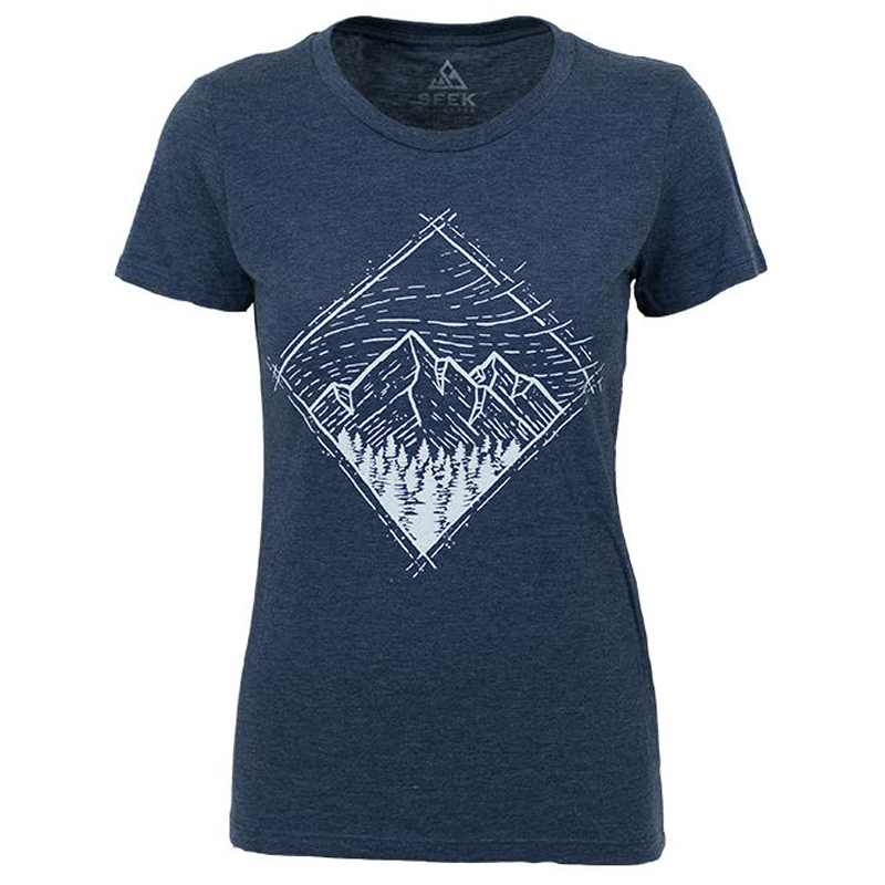 EarthHero - Windy Sky Women's Graphic T-Shirt