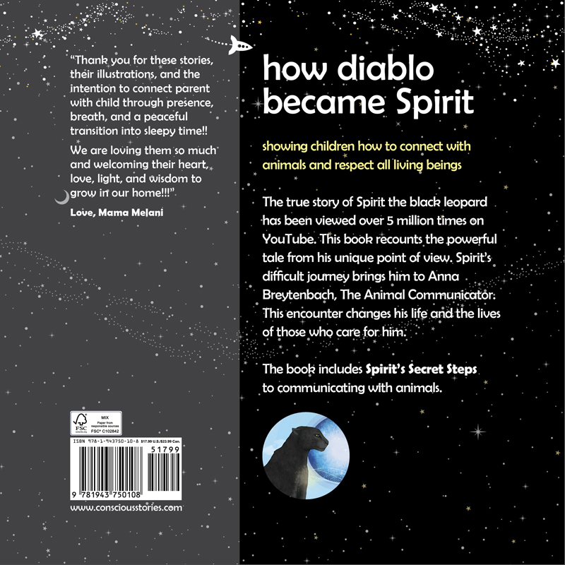 "EarthHero - ""How Diablo Became Spirit"" Children's Book - 2"
