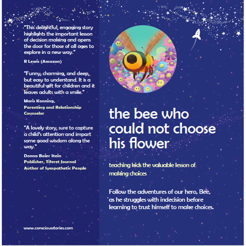 "EarthHero - ""The Bee Who Could Not Choose Her Flowers"" Children's Book - 2"