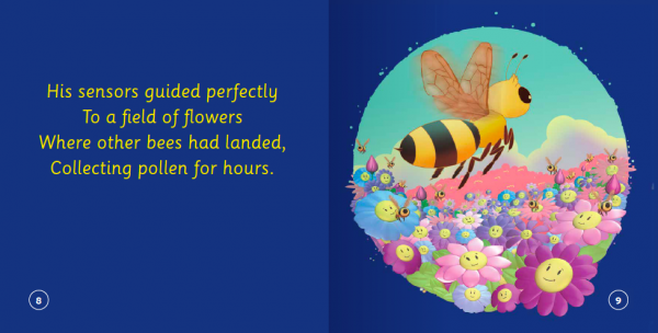 "EarthHero - ""The Bee Who Could Not Choose Her Flowers"" Children's Book - 3"