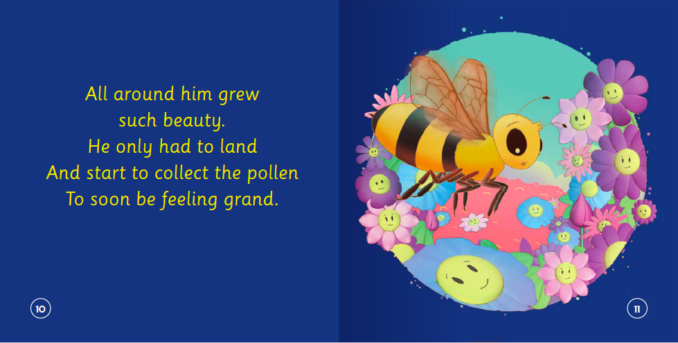 "EarthHero - ""The Bee Who Could Not Choose Her Flowers"" Children's Book - 4"
