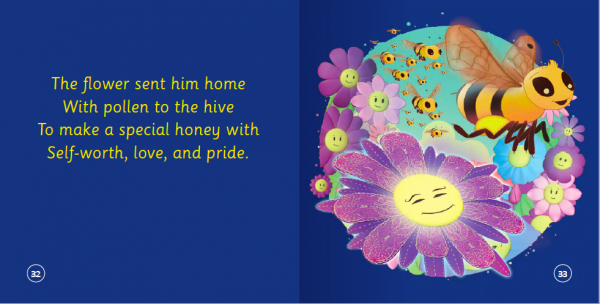 "EarthHero - ""The Bee Who Could Not Choose Her Flowers"" Children's Book - 5"