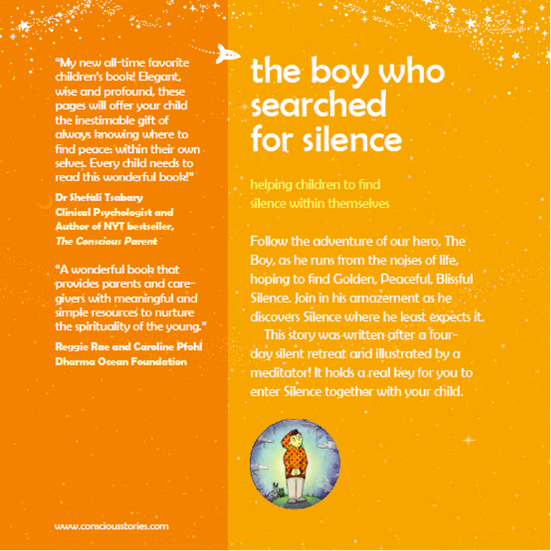 "EarthHero - ""The Boy Who Searched for Silence"" Children's Book - 2"