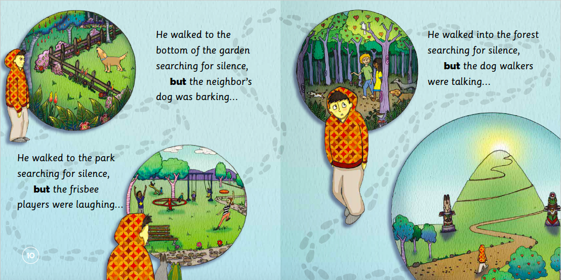 "EarthHero - ""The Boy Who Searched for Silence"" Children's Book - 5"