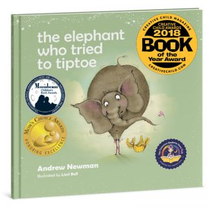 "EarthHero - ""The Elephant Who Tried to Tiptoe"" Children's Book - 1"