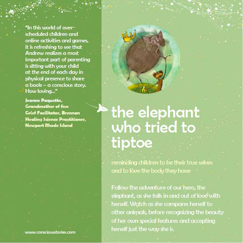"EarthHero - ""The Elephant Who Tried to Tiptoe"" Children's Book - 2"