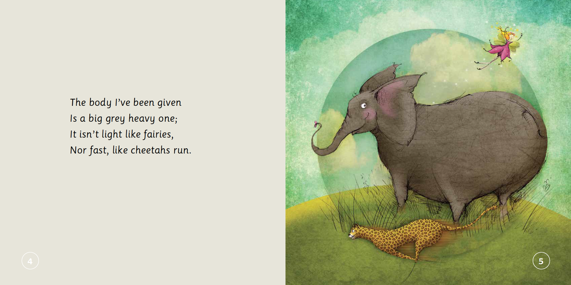 "EarthHero - ""The Elephant Who Tried to Tiptoe"" Children's Book - 3"
