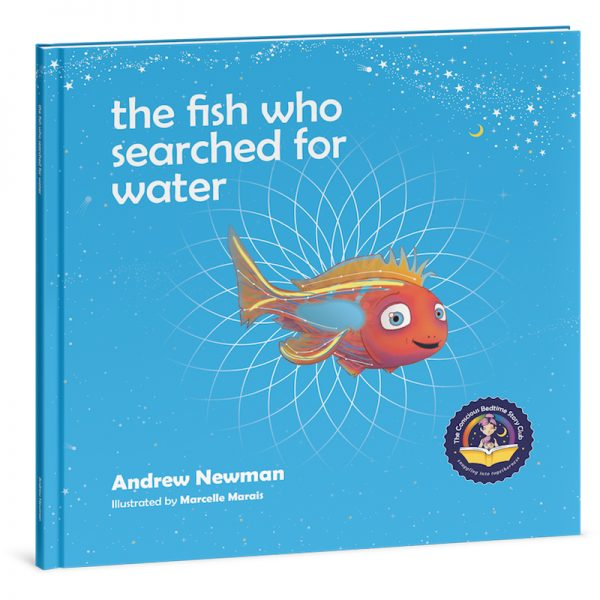 """EarthHero - """"The Fish Who Searched for Water"""" Children's Book - 1"""