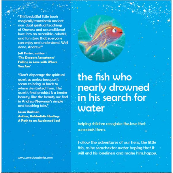 """EarthHero - """"The Fish Who Searched for Water"""" Children's Book - 2"""